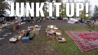 Flea Market Selling Vlog - YOU NEED TO JUNK IT UP!