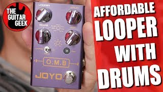 Loop Pedal with Drum Machine - Joyo OMB Demo and Review