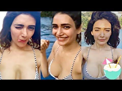 Xxx Mp4 Sanju Actress Karishma Tanna Chilling In Bikini With Friend In Pool 3gp Sex