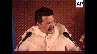 PHILIPPINES: ESTRADA IMPEACHMENT TRIAL (V)