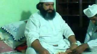 Peer Syed Ayub Shah of Chak 32 Sharif FSD in house of Hafiz at Lakshmi Lahore part 2