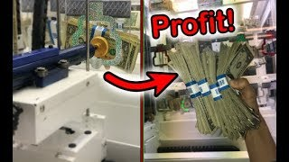 MADE SO MUCH MONEY FROM CASH KEY MASTER ARCADE GAME! | JOYSTICK