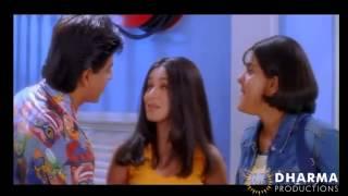 Tina's entry scene Kuch Kuch Hota Hai   Shahrukh Khan, Kajol, Rani Mukerji   HQ