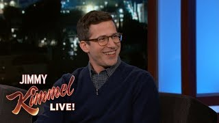 Andy Samberg on Wearing Silk Boxers and Being Naked in Public