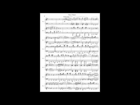 滝廉太郎「花」ジャズアレンジ/ピアノ2台連弾楽譜