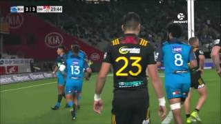 2017 Super Rugby Rd 14: Blues v Chiefs