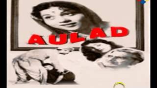 Duniya Tasveer Hai   Aulad 1954   Talat Mahmood