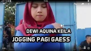 Video Terbaru Dewi Aquina Keila Joging Dengan Toket Besar