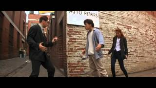 Jackie Chan Fools A Bad Guy In