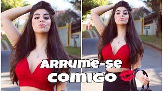 ARRUME-SE COMIGO/GET READY WITH ME PARA TIRAR FOTO!