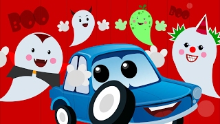 Zeek And Friends | Naughty Ghost | Car Songs And Rhymes For Kids