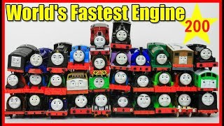 BIGGEST RACE! Thomas and Friends THE GREAT RACE #200 TRackmaster Thomas Train|Thomas & Friends