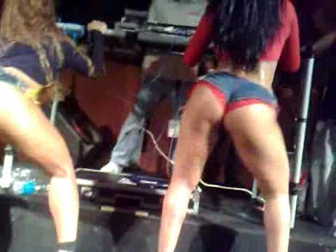 Mulher Moranguinho e Mulher Jaca Baile Funk Video Amador