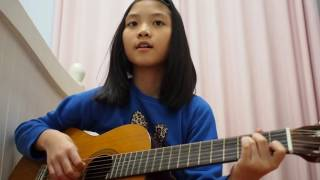 Bimbang by Melly Goeslaw - Guitar Cover by Alexa