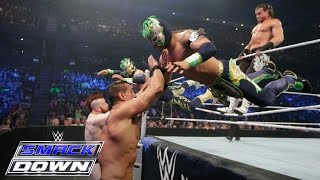 Dolph Ziggler & The Lucha Dragons vs. The League of Nations: SmackDown, February 18, 2016