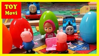 Thomas und seine Freunde die kleine Lokomotive Deutsch Ü-ei Peppa Wutz Mascha und der Bär