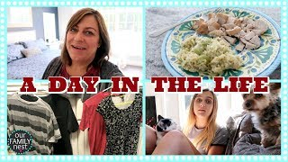 DAY IN THE LIFE of a BUSY WORK AT HOME MOM