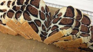 Leopard Print Milk Loaf