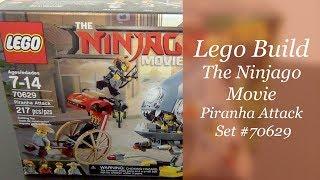 LEGO Ninjago Movie Build - Piranha Attack Set #70629