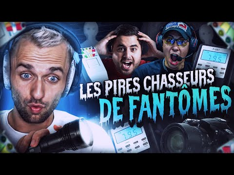 LES PIRES CHASSEURS DE FANTÔMES 👻 Phasmophobia ft. Locklear Doigby