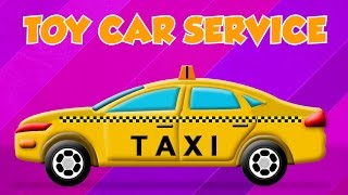 Taxi | toy car service | Car Garage | Car Repair