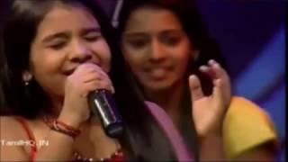 Vijai tv performers in anushiya & dhanush