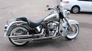 2008 Harley Davidson Softail Deluxe Walk Around And Idle Review