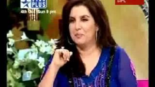 SRK in Farah Khan's show