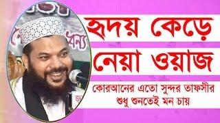 মনের প্রসান্তির জন্যে এই বয়ান | Mawlana Kamrul Islam Said Ansari | Bangla waz 2017 New mahfil Media