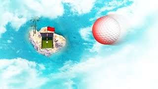 HOLE IN ONE FROM SPACE! (Golf It)
