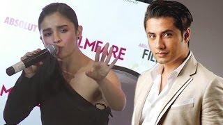 Alia Reacts On Pakistani Actor Ali Zafar