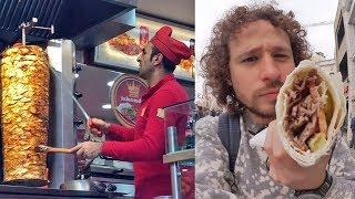 Probando comida callejera en TURQUÍA | ¿El origen de los tacos?