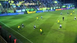 Milagro en el arco del Santo. Defensa 0 San Martín 0. Fecha 13. Primera División 2016