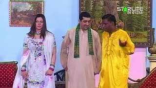 Muhabbat CNG 2 Amanat Chan and Nasir Chinyoti New Pakistani Stage Drama Full Comedy Funny Play