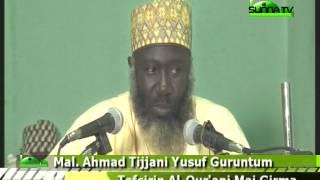 Malam Ahmad Tijjani Yusuf (Tafsirin Qur'ani Mai Girma 1)