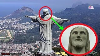10 تماثيل غامضة تم إلتقاطها وهى تتحرك !!