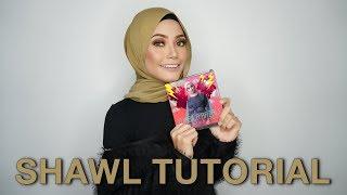 SHAWL TUTORIAL - Nabila Razali