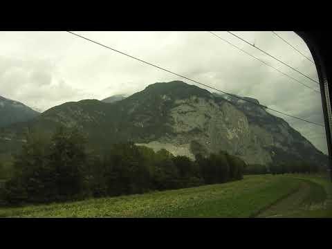 20170906 Munich via Innsbruck train ride
