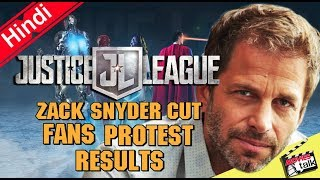 Justice League Zack Snyder Cut Fans Protest Results [Explained In Hindi]