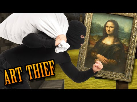 Minecraft: 5 BASE BURGLARIES - Artistic Thief