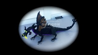 Part 5/6 Rainbow Loom Maleficent from Sleeping Beauty
