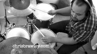 """Jazz Drum Lesson on form with Chris Brawley (playing along with the jazz standard """"Star Eyes"""")"""