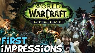 World Of Warcraft: Legion First Impressions
