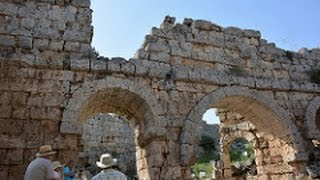 Ancient Roman Ruins in Turkey-Aspendos, Perge, Asklepion (with Narration, Facts/Figures)