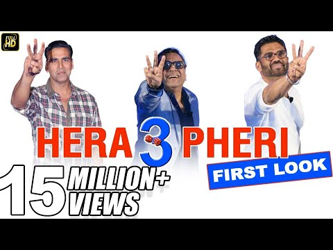 Xxx Mp4 Hera Pheri 3 Comedy First Look Akshay Kumar Paresh Rawal Suniel Shetty 3gp Sex
