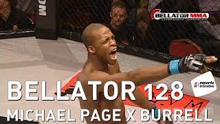 Bellator 128 - Michael Page, o Anderson Silva Inglês, vence com show!