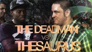 KOTD - Rap Battle - The Saurus vs The Deadman