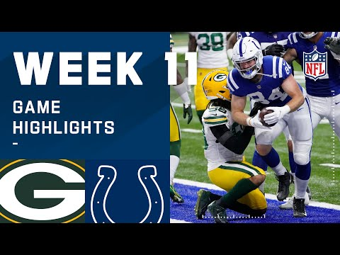 Packers vs. Colts Week 11 Highlights NFL 2020