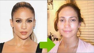 Jennifer Lopez without makeup - Top-20 photos