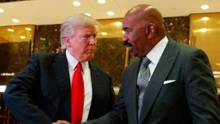 Some African Americans criticized for Trump meetings